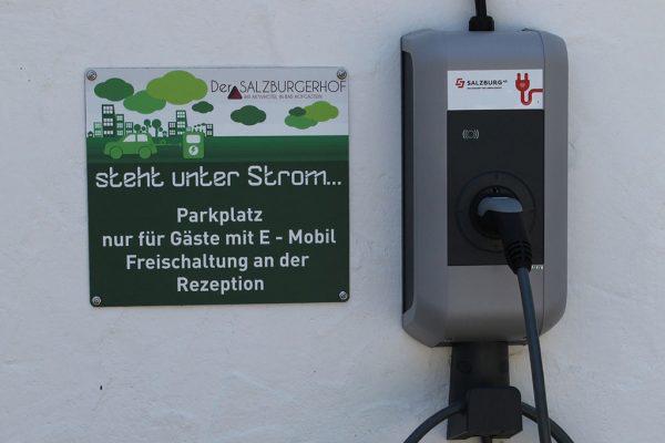 Salzburger Hof E-Ladestation